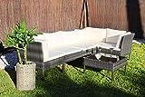 Kiefergarden Kansas Sofa esquinero Modular de jardín en