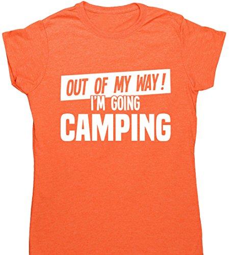 HippoWarehouse Damen T-Shirt X-Large Orange (Heather Orange)