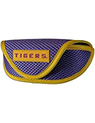 NCAA LSU Tigers Sports Sunglasses Case, Purple