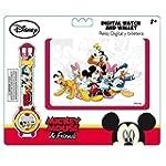 Geldbörse & Armbanduhr Disney Mickey...