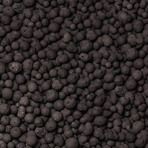 brockytony 8-16 mm. (Pflanzton, Pflanzgranulat, Blähton) 10 Liter. ANTHRAZIT SCHWARZ. BT884Y0