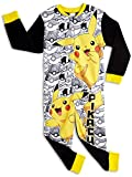 Pokemon Onesie for Kids | Children's Onesie with Pokemon Character | All in One PJ Jumpsuit Featuring Pikachu and Poke Balls | Pikachu Onesie Pyjama | Gift for Boys 3-12 Years