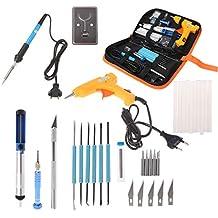 menitn 35pcs/Kit de soldador, soldador Set 220 V 60 W cautín, temperatura