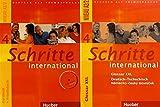 Schritte international 4: Deutsch als Fremdsprache / Kurs- und Arbeitsbuch mit Audio-CD und Glossar XXL Deutsch - Tschechisch (Schritte international - Regionale Ausgabe)