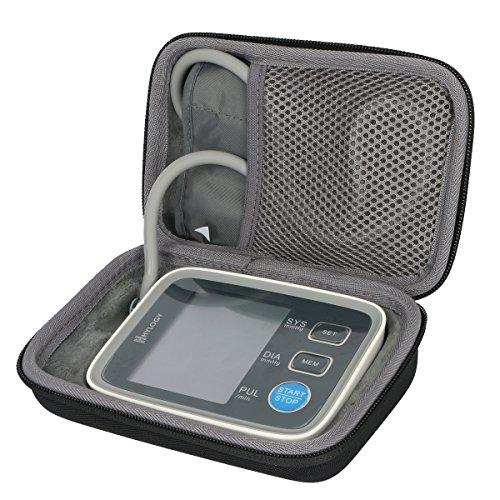 Hart Reise Schutz Hülle Etui Tasche für Hylogy Digital Oberarm Blutdruckmessgerät von co2CREA Digitale Reise-tasche