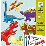 Djeco - Kreativ Set Dinos mit beweglichen Elementen