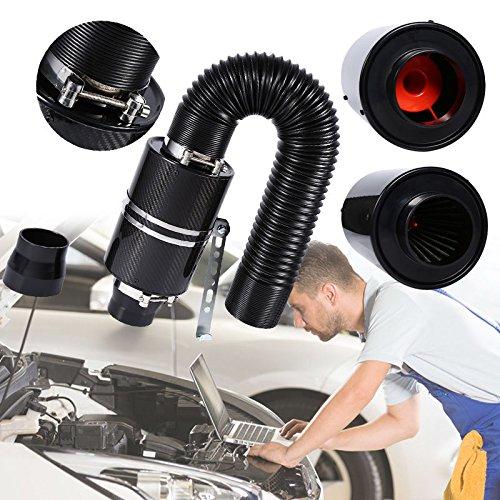 """3""""Luftfilter-Kasten-Kohlenstoff-Faser-kaltes Luft-Einlass-System für die meisten Autos"""