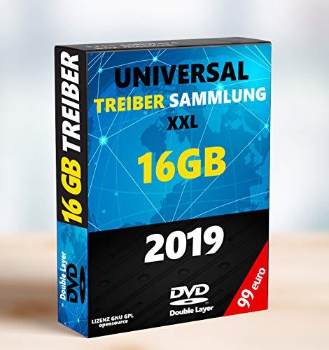 Universal Treiber CD DVD für Windows 10 ® Windows 8 / 7 / Vista / XP (32 & 64 Bit) (Für Windows Treiber 7)
