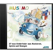 Mein MUSIMO - Lieder-CD: Die fröhliche Liedersammlung aus MUSIMO 1 und 2 - zum Singen, Bewegen und Spielen. (Mein MUSIMO / Rhythmische Musikerziehung ... in Musikschule und Kindergarten)
