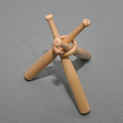 Buchenholz-lagerung (1 Satz Mini Holz Baseballschläger Golf Tennis Ball Display Basis Ständer Halterung Souvenir Ball Lagerung Inhaber Unterstützung,1)