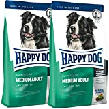Happy Dog 2 x 4 kg Supreme Fit & Well Medium Adult