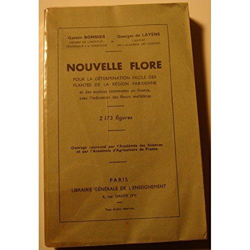 BONNIER/DE LAYENS nouvelle flore - plantes de la région parisienne 1946++