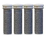 CSL Emjoi Micro-Pedi Mineral Ersatzrollen sehr grob für , 4er Pack, silver