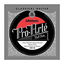D'Addario SNN-3B Pro-Arte Silver and Copper Plated Bass String Set