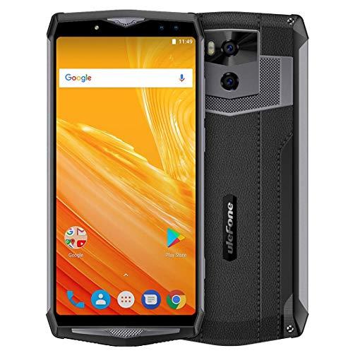 Ulefone Power Fingerprint Identification 13000mAh - Ulefone Power 5, 6GB plus 64GB, Dual Back Cameras plus Dual Front Cameras, Face & Fingerprint Identification, 13000mAh Battery, 6 Inch, Android 8.1 OS MTK6763 Octa Core 2.0GHz, OTG, Network 4G