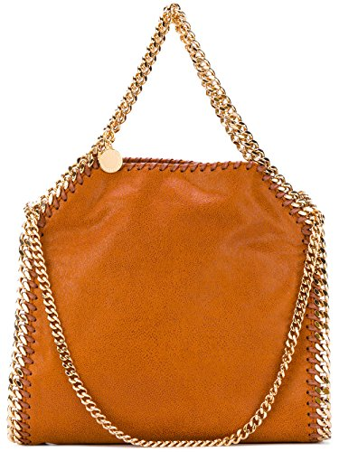 Stella-Mccartney-Womens-371223W93557660-Orange-Polyester-Handbag