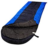 RuggedTrails® All Season Waterproof Hooded Sleeping Bag (Single) with Compression Carry Bag