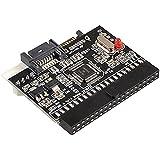 TOOGOO (R) Bidireccional SATA Serial ATA a IDE Convertidor Adaptador Rojo Negro