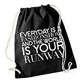 Certified Freak Everyday Is A Fashion Show Gymsack Black