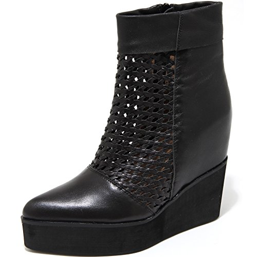 6687H tronchetti donna JEFFREY CAMPBELL divide zeppe scarpe ankle boots women [36]