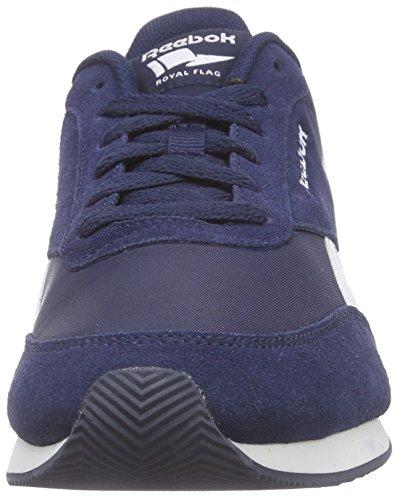 Reebok Herren Royal Classic Jogger 2 Sneaker Blau (Collegiate Navy/White/Baseball Grey)