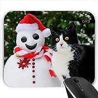 Muismat - Natale Gatto Santa Pupazzo Di Neve by Katho (36 Di Santa)