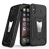 iPhone X Custodia zapro® Custodia iPhone X [antiscivolo Anti-graffio] TPU Bumper Silicone Guscio...
