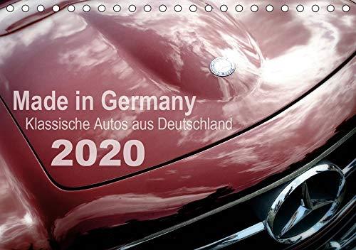 Made in Germany - Klassische Autos aus Deutschland (Tischkalender 2020 DIN A5 quer): Alte Karossen in faszinierenden Detailaufnahmen (Monatskalender, 14 Seiten ) (CALVENDO Mobilitaet)