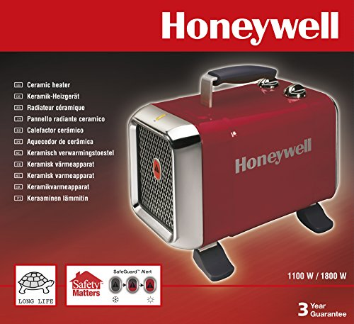 Honeywell HZ-510E1 Heavy Duty Fan Heater