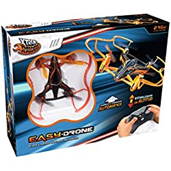 Xtrem Raiders Easy Drone- Drone Carreras, Color Naranja (World Brands XT280806)