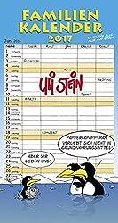 Familienkalender 2017: Wandkalender