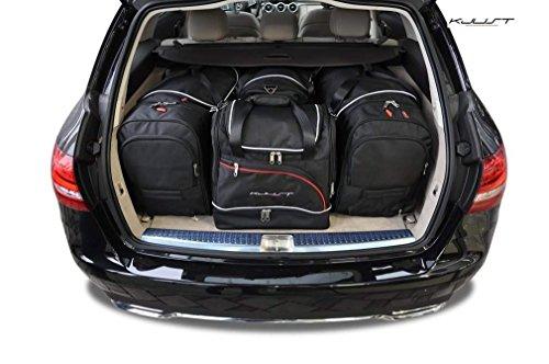 KJUST - CAR-BAGS AUTO-TASCHEN MASSTASCHEN ROLLENTASCHEN MERCEDES C KOMBI, W205, 2013-