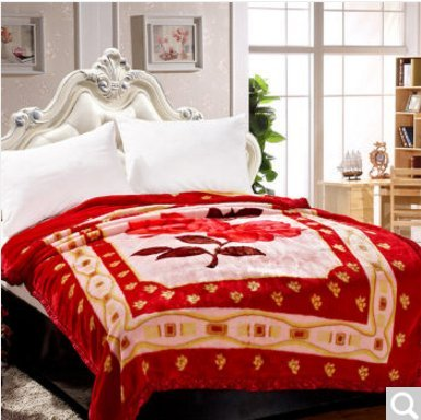BDUK Home Vertrag beidseitig mit Decken, Lamm, Wolldecken, E,200*230cm 6 Catties-Emulation