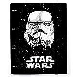 Grupo Erik Editores Star Wars Classic Trooper - Carpeta con 4 anillas troquelada, 32 x 27.5 cm