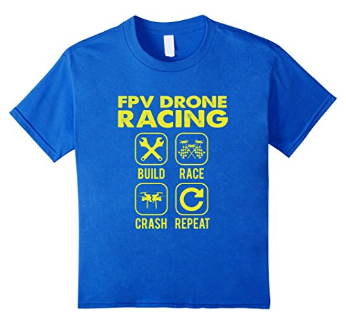 FUNNY FPV DRONE RACING T-SHIRT Quad Copter RC Gift