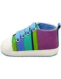 YanHoo Zapatos para niños Zapatos Antideslizantes para niños pequeños Moda bebé niña niño Suela Suave Antideslizante