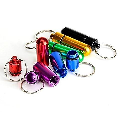 piluliers pour porte-clés pour elle et lui (Special 2 Piece Package)