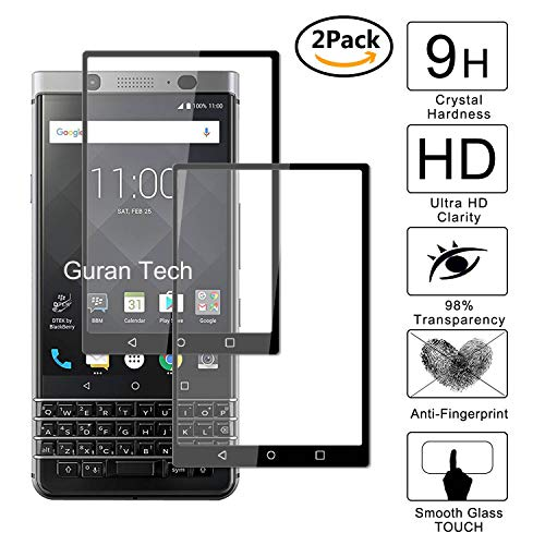 Guran [2 Paquete] Protector Pantalla Blackberry Keyone