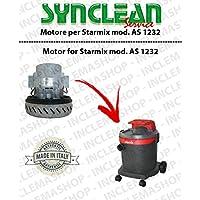 As 1232Motor aspiración synclean para aspiradora Starmix