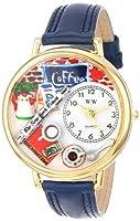 Reloj Whimsical Watches WHIMS-G0310006 de cuarzo unisex con correa de piel, color azul de Whimsical Watches