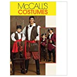 Mc Call´s Schnittmuster 5446 Men Kostüm Pirat Gr. S-M-L-XL