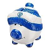 FC Schalke 04 Sparschwein, Spardose, Piggy Bank S04 - Plus Gratis Lesezeichen I Love Gelsenkirchen