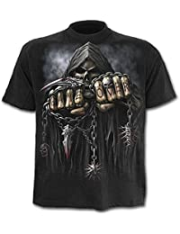 Spiral - Men - GAME OVER - T-Shirt Black