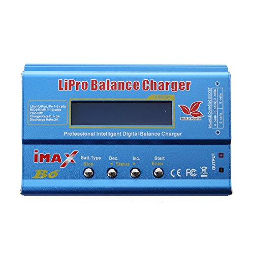 SODIAL (R) Digitale LCD B6 Lipo NiMh Caricabatt