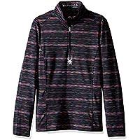 Spyder Bocca - Camisa y Cuello para niña,, niña, Color Black, tamaño Small