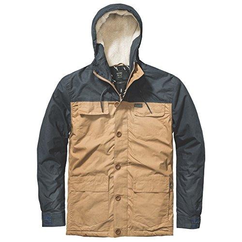 Globe Goodstock Blocked Parka Jacket uomo, parka, giallo, Large EU