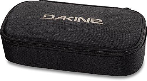 Dakine School Case XL Black schwarz, Federmäppchen für Schule, Studium oder Arbeit mit Stifthalter für fünf Stifte und viel Platz für mehr -