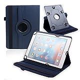 Best New Huawei MediaPad M210.0Fall umfasst die, Universal dunkelblau Farbe Fall für 22,9cm zu 25,7cm Tablet PU Leder Schützen Cover Case Stand für Huawei MediaPad M210.0und alle Tablets von 22,9cm bis 25,7cm Bildschirm Größe