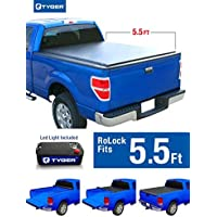 Tyger Auto TG-BC2F2070 RoLock Low Profile Roll-Up Truck Bed Tonneau Cover (For 2004-2008 Ford F-150 5.5' Bed Only) by Tyger Auto