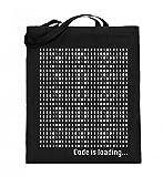 Hochwertiger Jutebeutel (mit langen Henkeln) - Cooler Einkaufsbeutel für Coder, Programmierer und Computerfreaks - Code is loading -